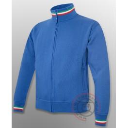 Felpa Italia Royal Blu