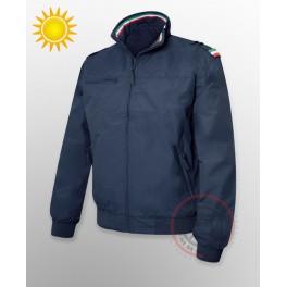 Italian Summer Flight Jacket  - Navy Blue